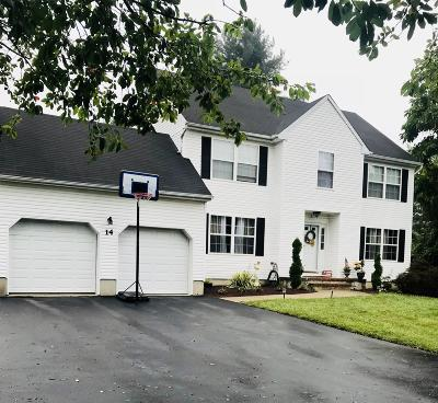 Manalapan Single Family Home For Sale: 14 Taylors Mills Road