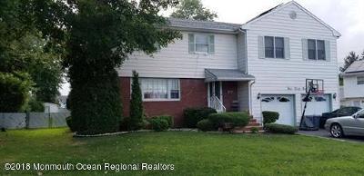 Aberdeen, Matawan Single Family Home For Sale: 321 Myrtle Street