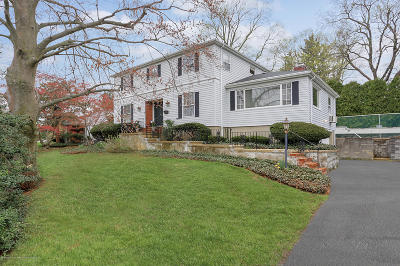 Red Bank Single Family Home For Sale: 276 Harding Road