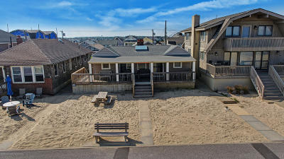 Avon-by-the-sea, Belmar, Bradley Beach, Brielle, Manasquan, Spring Lake, Spring Lake Heights Single Family Home For Sale: 153 Beachfront