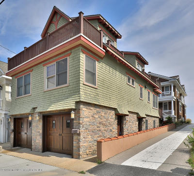 Avon-by-the-sea, Belmar, Bradley Beach, Brielle, Manasquan, Spring Lake, Spring Lake Heights Single Family Home For Sale: 300 1st Avenue