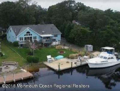 Ocean County Single Family Home For Sale: 608 Twin River Drive