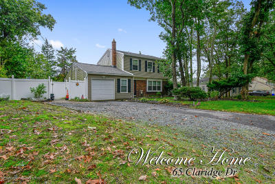 Jackson Single Family Home For Sale: 65 Claridge Drive