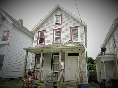 Asbury Park NJ Single Family Home For Sale: $299,900