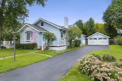 Long Branch, Monmouth Beach, Oceanport Single Family Home For Sale: 11 Genesse Avenue