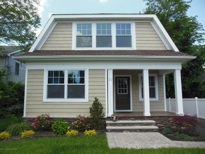 Monmouth County Single Family Home For Sale: 22 Fisk Street