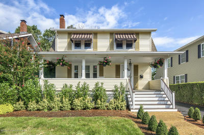 Rumson Single Family Home For Sale: 20 Washington Avenue