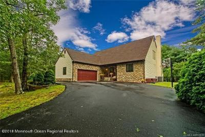 Ocean County Single Family Home For Sale: 460 Stage Road