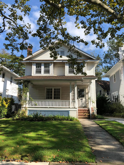 Asbury Park Single Family Home Under Contract: 709 7th Avenue