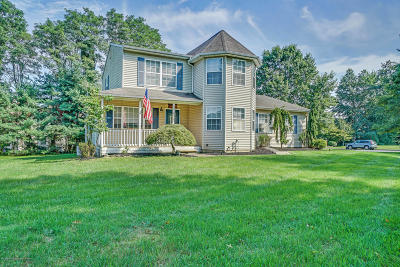 Sea Girt Single Family Home Under Contract: 2160 Baileys Corner Road