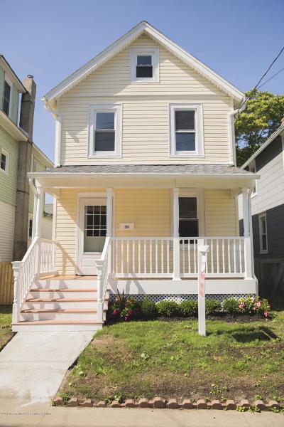 Bradley Beach Single Family Home For Sale: 514 Park Place Avenue