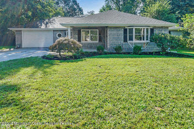Howell Single Family Home For Sale: 123 W 6th Street