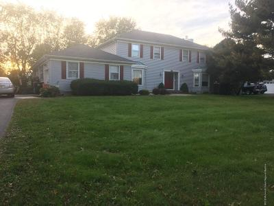 Freehold NJ Single Family Home For Sale: $505,000