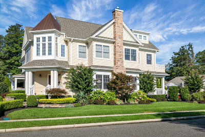 Sea Girt Single Family Home Under Contract: 201 Boston Boulevard