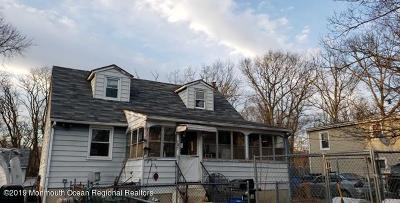 Neptune City, Neptune Township Single Family Home For Sale: 107 Jackson Place