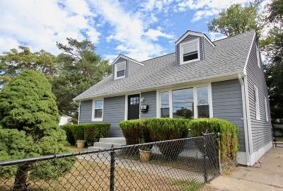 Neptune Township NJ Single Family Home Under Contract: $249,900