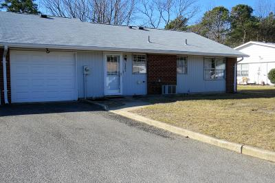 Leisure Vlg E Adult Community For Sale: 1250a Hamilton Court #100A