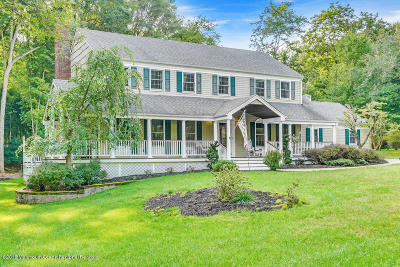 Colts Neck Single Family Home For Sale: 24 Maple Drive