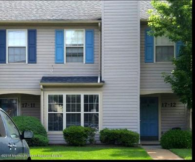 Freehold Condo/Townhouse Under Contract: 17 Stuart Drive #12