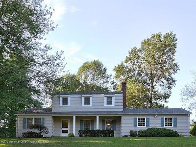Holmdel Single Family Home Under Contract: 6 Robin Road