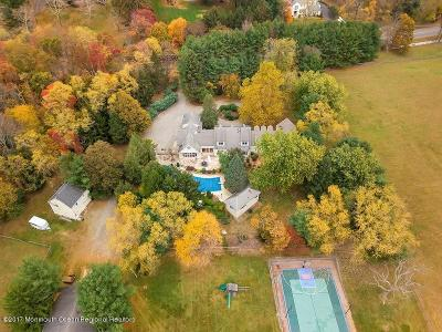 Monmouth County Farm For Sale: 32 Clover Hill Road