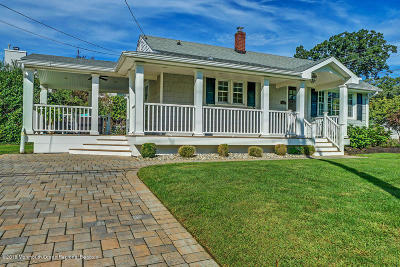 Avon-by-the-sea, Belmar, Bradley Beach, Brielle, Manasquan, Spring Lake, Spring Lake Heights Single Family Home Under Contract: 601 Monmouth Avenue
