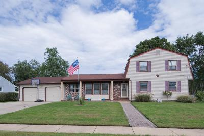 Howell Single Family Home Under Contract: 14 Taunton Drive