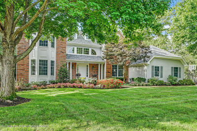 Avon-by-the-sea, Belmar, Bradley Beach, Brielle, Manasquan, Spring Lake, Spring Lake Heights Single Family Home Under Contract: 2339 Orchard Crest Boulevard