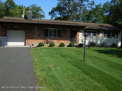 Brick Single Family Home For Sale: 1574 Burrsville Road