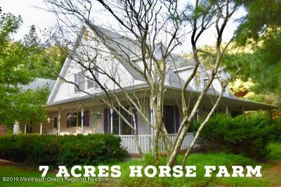 Single Family Home For Sale: 241 Long Swamp Road
