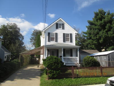 Long Branch Single Family Home For Sale: 369 W Columbus Place