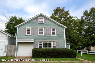 Avon-by-the-sea, Belmar, Bradley Beach, Brielle, Manasquan, Spring Lake, Spring Lake Heights Single Family Home For Sale