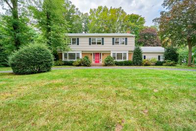Rumson Single Family Home Under Contract: 18 Holly Tree Lane