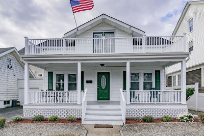Avon-by-the-sea, Belmar, Bradley Beach, Brielle, Manasquan, Spring Lake, Spring Lake Heights Single Family Home For Sale: 1807 Surf Avenue