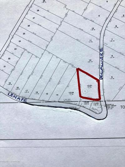 Jackson Residential Lots & Land For Sale: Delaware Trail