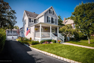 Rumson Single Family Home Under Contract: 15 Lincoln Avenue