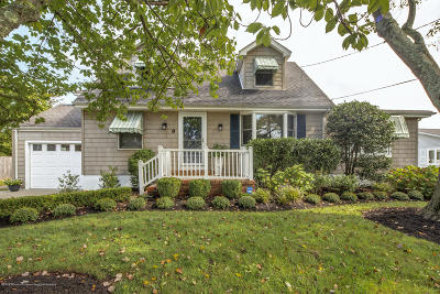 Long Branch, Monmouth Beach, Oceanport Single Family Home For Sale: 9 West Street