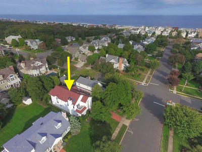 Sea Girt Single Family Home For Sale: 203 Stockton Boulevard