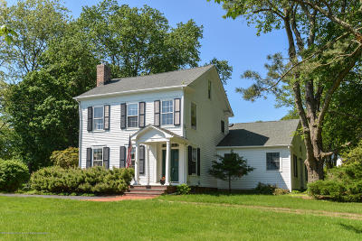 Holmdel Single Family Home Under Contract: 84 Crawfords Corner Road