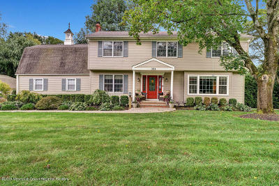 Freehold Single Family Home Under Contract: 351 Plymouth Drive