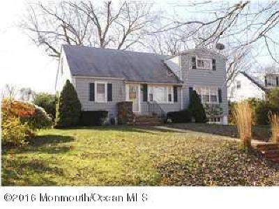 Long Branch Single Family Home For Sale: 320 Fairfield Avenue
