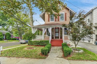 Asbury Park Single Family Home For Sale: 1527 Third Avenue