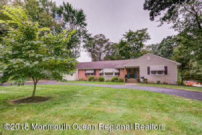 Hazlet Single Family Home Continue To Show: 582 Holmdel Road