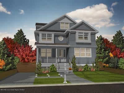 Avon-by-the-sea, Belmar, Bradley Beach, Brielle, Manasquan, Spring Lake, Spring Lake Heights Single Family Home For Sale: 414 Central Avenue Avenue