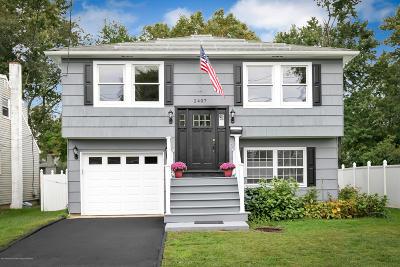 Avon-by-the-sea, Belmar, Bradley Beach, Brielle, Manasquan, Spring Lake, Spring Lake Heights Single Family Home For Sale: 2407 Hamilton Avenue