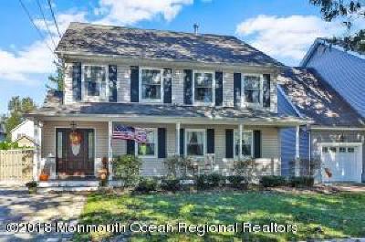 Avon-by-the-sea, Belmar, Bradley Beach, Brielle, Manasquan, Spring Lake, Spring Lake Heights Single Family Home For Sale: 52 Morris Avenue