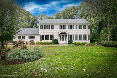 Holmdel NJ Single Family Home For Sale: $840,000