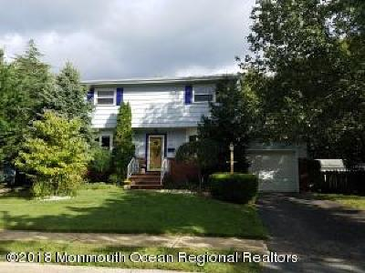 Hazlet Single Family Home For Sale: 68 Fleetwood Drive