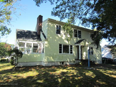 Belmar Single Family Home For Sale: 1305 Bay