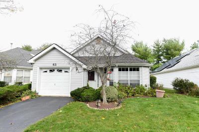 Freehold NJ Single Family Home For Sale: $329,000